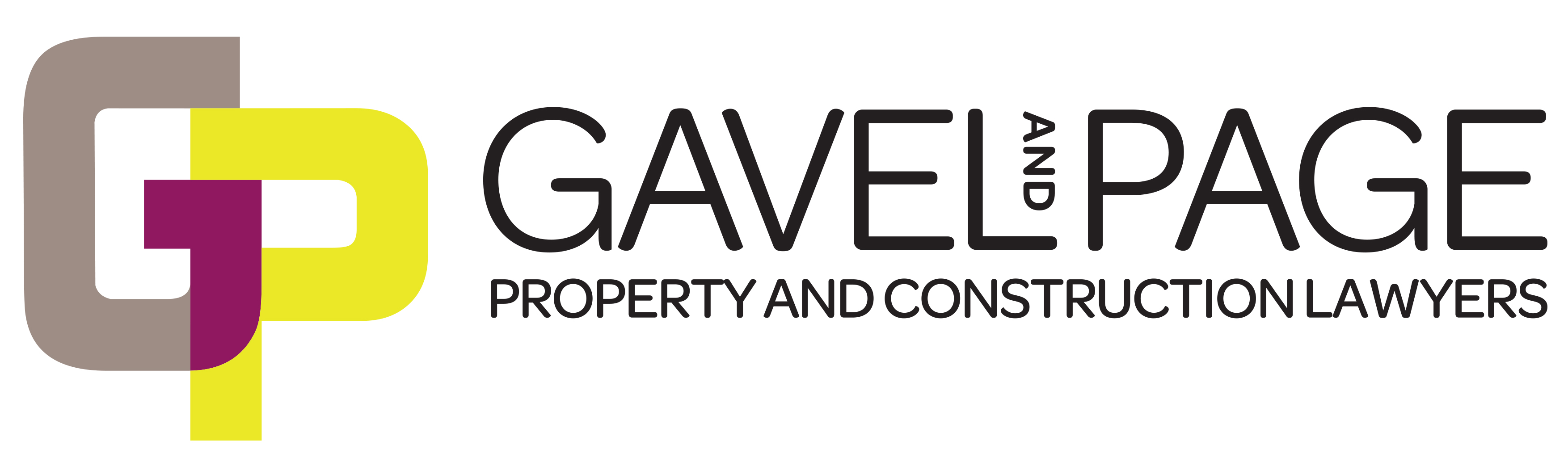 Gavel & Page Lawyers Logo